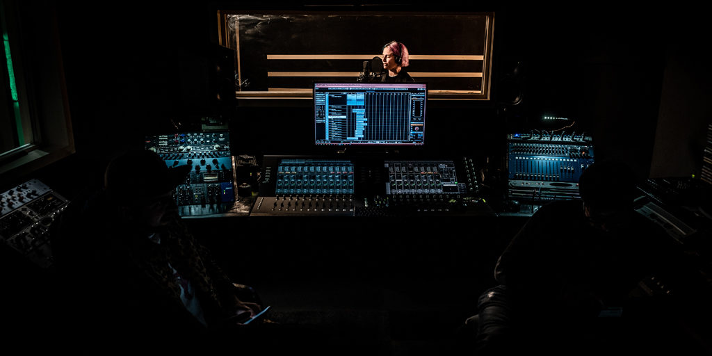 studio di registrazione perugia canto cantante sala regia