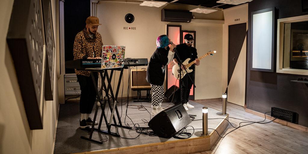 studio registrazione presa diretta band