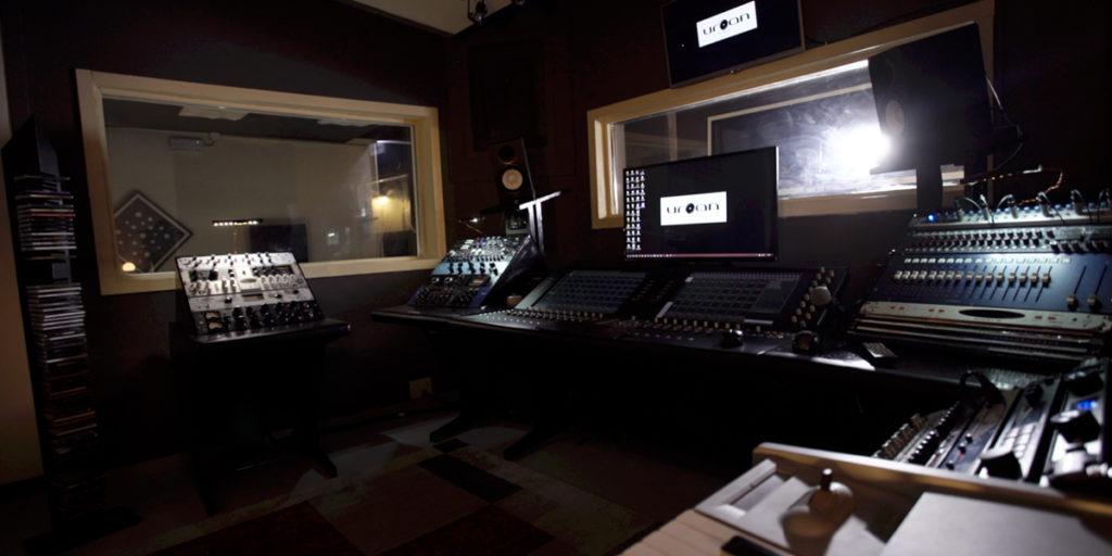 urban perugia studio di registrazione sala regia